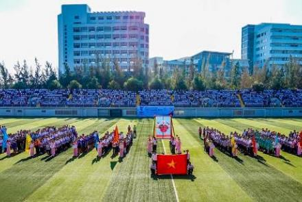 TDTU always organizes traditional sports day, namely TDT game
